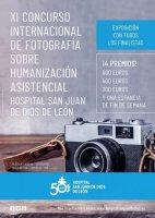 XI CONCURSO INTERNACIONAL DE FOTOGRAFÍA SOBRE HUMANIZACIÓN ASISTENCIAL HOSPITAL SAN JUAN DE DIOS DE LEÓN