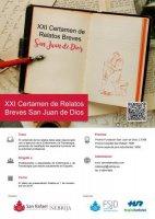 XXI Certamen de Relatos Breves San Juan de Dios